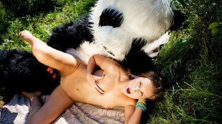 Brunette fuck in_the_woods toy panda Preview Image