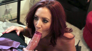 Cock hungry chick Jayden Jaymes slobbered all over the cock Preview Image