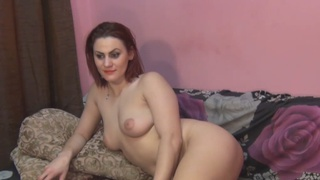 Busty_redhead_chick_fingers_her_wet_pussy Preview Image