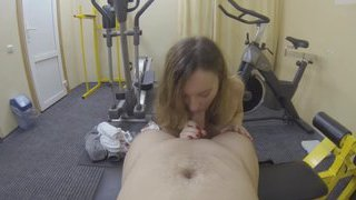 Amateur girl getting fucked at_the private gym Preview Image