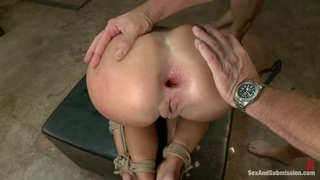Tied and fucked hard by two Preview Image