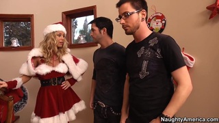 Sexy_blonde_Nicole_Aniston_is_all_Santa'd_out_in_red Preview Image
