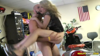 Stella gets fucked at the_scooter store Preview Image
