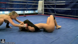 Nude Fight Club with Blue Angel and Debbie White Preview Image
