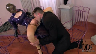 Latex Lucy can't recall being so exhausted during fucking Preview Image