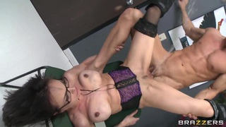Sexy office lady Cytherea is fucking with_Johnny Sins Preview Image