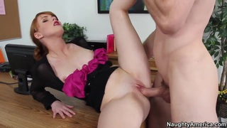 Office lady Marie_McCray_gets nailed on her desk Preview Image