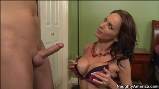 Sexy hot mom Carina Roman in hardcore youngster disgrace! Preview Image