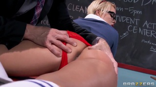 School girl Alexis Monroe gets cock from Johnny Sins Preview Image