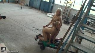 Michelle Moist_and Viktoriah in hot femdom scene Preview Image