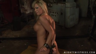 This two blonde girlfriends Adriana Russo and Lee Lexxus are demonstrating the naughtiest femdom video. Preview Image