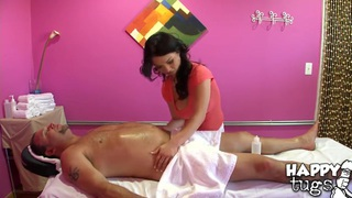 Teen hottie Mia Rider pleases Jay with relaxing and hot massage Preview Image