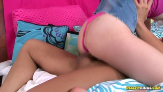Uncut chanaes & Tiny teen tiffany fox enjoys a huge fat_cock! Preview Image