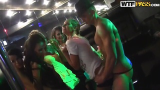 Sexy Russian lesbians_fucking in the strip club! Preview Image