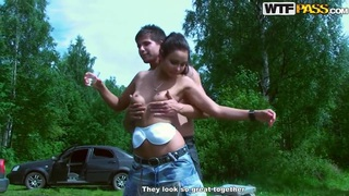 Hot fucking Russian picnic with sexy teen Jocelyn! Preview Image