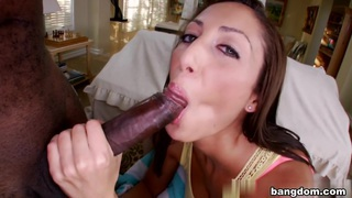 Angelica Saige in Her first big black dick Preview Image