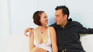 Husband watches his redhead wife get pounded by a BBC Preview Image