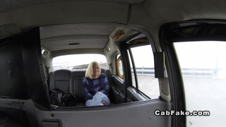 Cab driver fucks big ass blonde public reality Preview Image