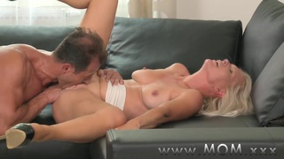 MOM Blonde MILF gets fucked hard Preview Image