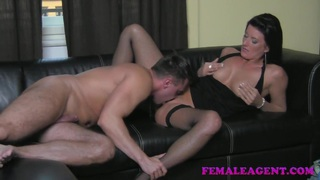 FemaleAgent HD Cocky casting gets dominated Preview Image