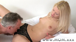 MOM Blonde MILF rides big cock Preview Image