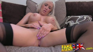 Fake Agent UK Dirty hot blonde loves a bit of anal sex Preview Image