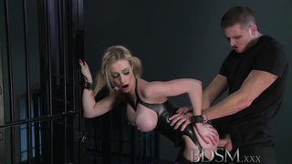 BDSM XXX Big breasted blonde gets a hardcore lesson Preview Image