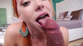 Dani Jensen spreads her lips round a stiff cock Preview Image