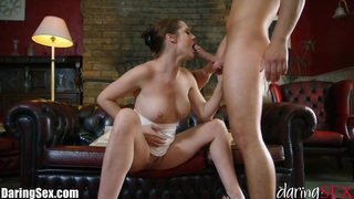 DaringSex Gorgeous Babe Passionately Fucked Preview Image
