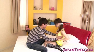asian pornstar_Miku_Airi gets her tits spunked Preview Image