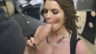 Tasha Holz sucks Danny D's monster shaft and throws it between her bazookas Preview Image