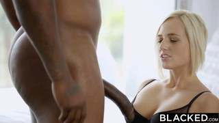 Hot blonde gets wet when she sees a BBC Preview Image