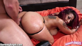 Big ass punk babe oiled and analed Preview Image