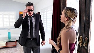 Sizzling hot babysitter fucked and thanked Preview Image