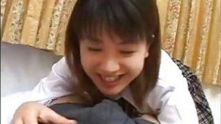 18yo Asian Giving A Blowjob POV Preview Image