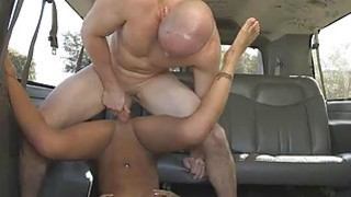 Tattooed Up Latina Amateur Banged In The Back Of Van Preview Image