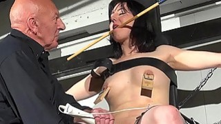 Crossed bondage tit tortures and sexual domination Preview Image
