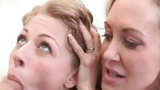 Stepmom Brandi Love and Zoey Monroe hot threeway Preview Image