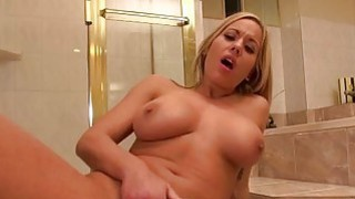 Huge boobs Olivia Austin bathroom fuck Preview Image