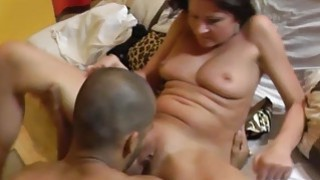 Wild czech girl does BJ, handjob and rubs her wet pussy Preview Image