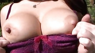 Agreeable twat drilling for a busty darling Preview Image