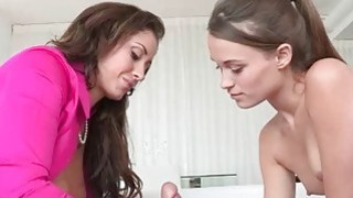 Big boobs stepmom Eva Notty caught teenage couple fucking Preview Image