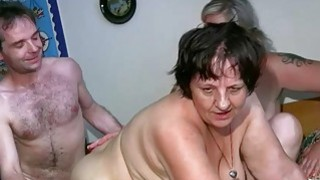 OldNanny Chubby lady and milf masturbate fuck Preview Image