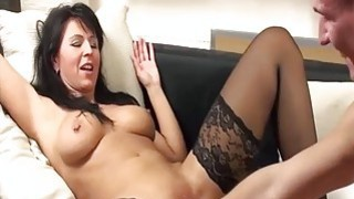 Hot amateur MILF fist fucked by her boyfriend Preview Image