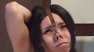 Extreme Japanese BDSM hot wax play subtitled Preview Image