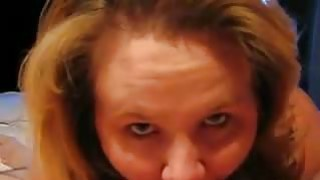 Amateur Chubby Mom sucks a cock Preview Image