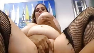 Busty BBW rides a Big Black Cock Preview Image