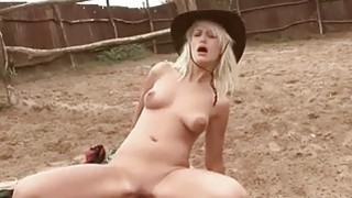 Young blonde gives blowjob and fucks a grandpa out Preview Image