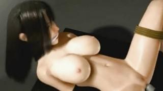 3D Big Titted Restraint Slave! Preview Image