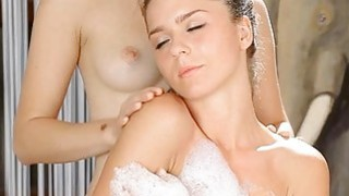 Lesbian gets her fur_pie pounded by a huge dong Preview Image